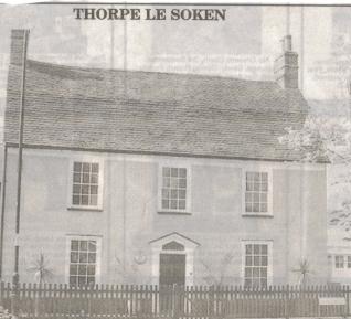 Oakley House, Thorpe le Soken. Home of Halford & Ruby Rivers