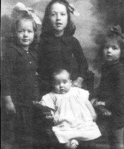 Midge,Veronica, Gertrude,Frank Davies Children